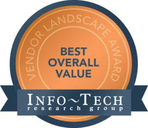 InfoTech Managed File Transfer Award