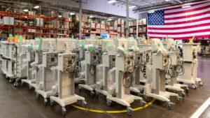 GE Ventilator Manufacturing